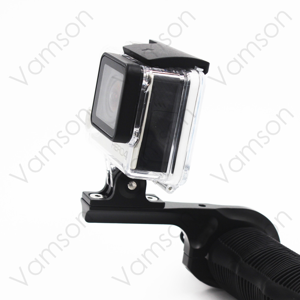 Go pro Accessories Black Aluminum Motorcycle Bike Bicycle Handlebar Mount Holder For Gopro Hero 4 3+ Xiaomi Yi Sport CameraVP502