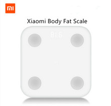 Buy Original Xiaomi Mi Smart Scale 2 Mifit APP & Body Composition Monitor Body Fat BMR Test Hidden LED Display Big Feet Pad whit for $68.90 in AliExpress store