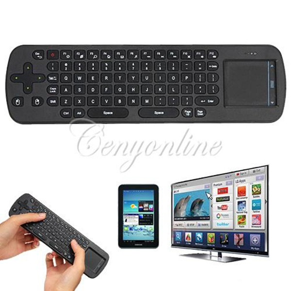 Top Quality Brand New RC12 2.4GHz Mini Fly Air Mouse Wireless Keyboard for Google Android Smart TV Box(China (Mainland))
