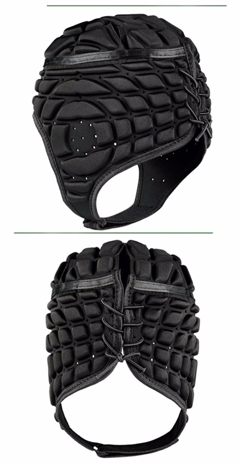 2017 Pressional Men Football Soccer Goalkeeper Helmet Sports Rugby Scrum Cap Headguard Goalie Roller Hat Head Protector Helmet