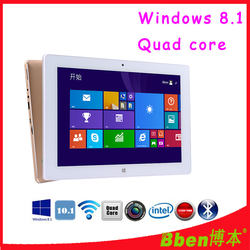 Free shipping ! Super thin Silver / Golden tablet pc quad core intel Z3735F windows 8.1 tablet pc dual camera G-sensor tablet pc(China (Mainland))