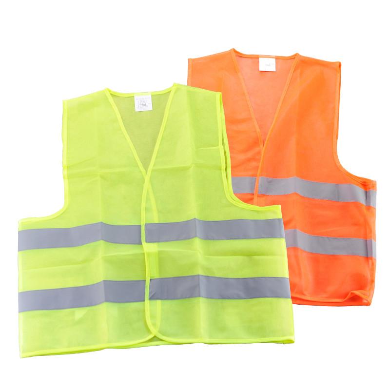 Светоотражающий жилет безопасности строительства поставки санитарии аварийного движения транспортных средств защитную одежду, Высокие видимость куртки