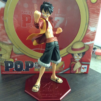 "One Piece Action Figure Luffy POP Edition Z 9"" PVC Anime Doll For Boy Toys"