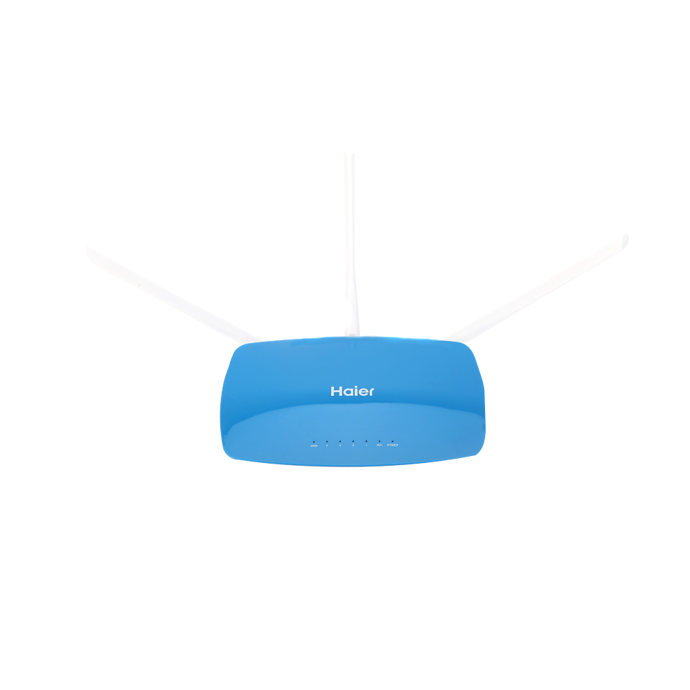 Haier D7 Hello WiFi High Speed Wall Through Wireless Router 300Mbps 4 LAN Ports 3 Antennas with US Plug Power Adapter(China (Mainland))