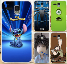 Good Selling Lovly Boy Stich Bat Mickey Painted PC Plastic Phone Case Skin Shell Lenovo A8 A806 A808T Cover - Shenzhen WEE Technology Co., Ltd. store