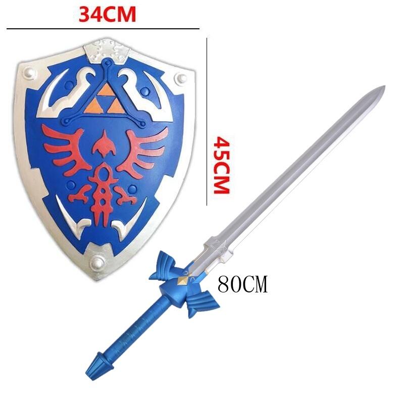 The Legend of Zelda Link's Cosplay equipment Skyward Sword / Shield PU&Foam Modele (Chinese Ver.)(China (Mainland))