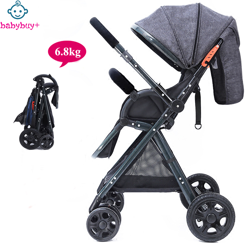 Free Shipping Luxury European Umbrella Baby Stroller Trolley Easy Carry Foldable Pram Baby Carriage Include Leg Cover(China (Mainland))