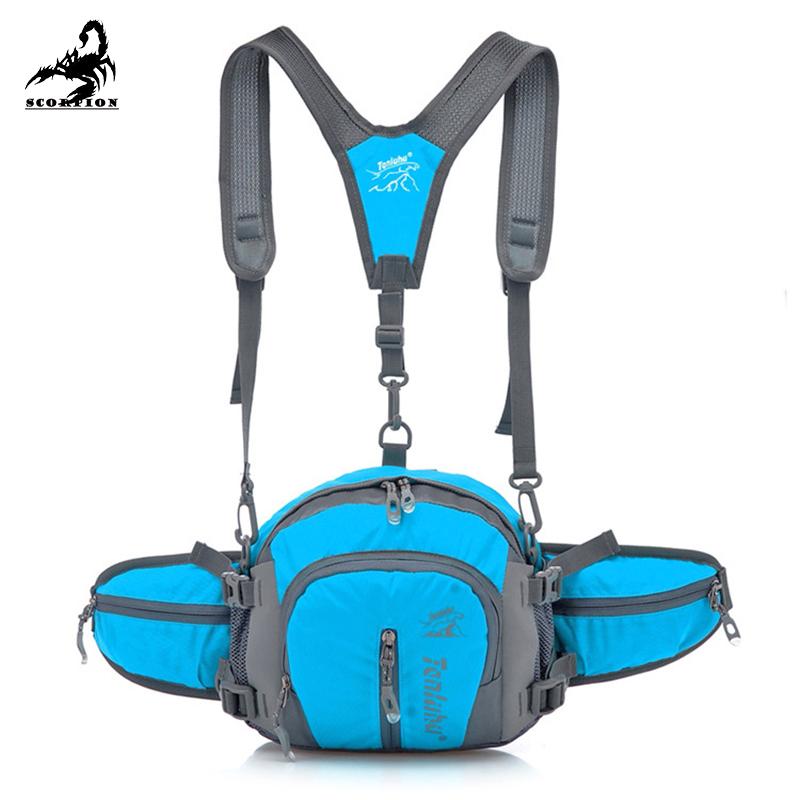 Outdoor Oxford cloth Drop Waist Leg Bags Waist Pack Bag Men Women Running Climbers Of Riding Watertight Sports Waist Fanny Pack<br><br>Aliexpress