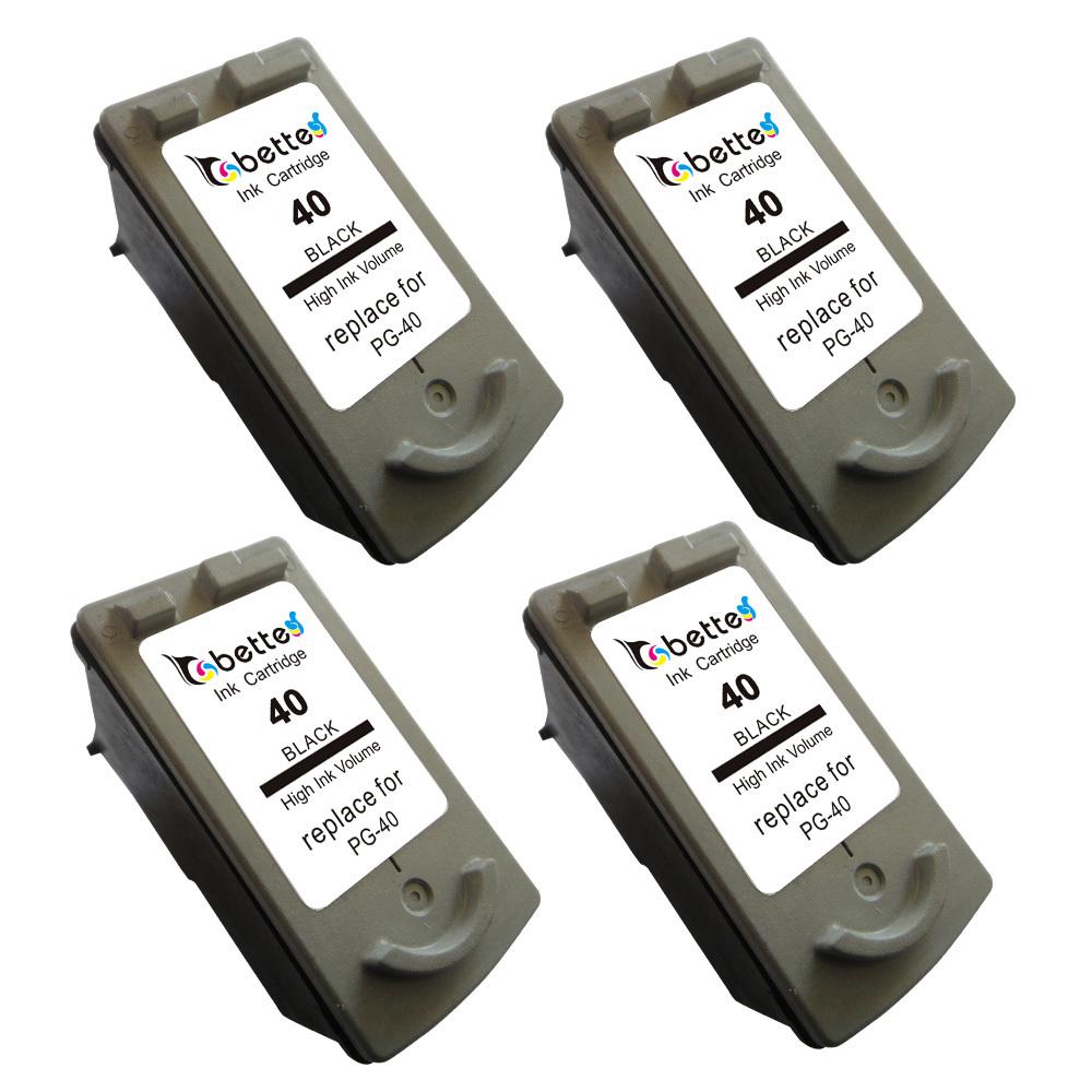 4PK,PG 40 for Canon Ink Cartridge PG40 PG-40 Printer Pixma MP140 MP150 MP160 MP170 MP180 MP190 MP210 MP220 MP450 MP460 MP470(China (Mainland))