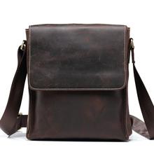 Бесплатная доставка мужская ума-лошадь кожа старинные молния ноутбука посланник атташе портфель мода тенденция T8864