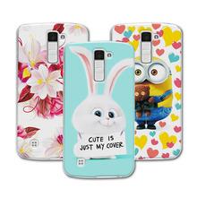 Buy Cute Cartoon Hard Plastic Case Coque LG K10 LTE K420N K430 K430ds F670/ LG M2 Colorful Mermaid Cover Funda LG K10 Capa for $1.48 in AliExpress store