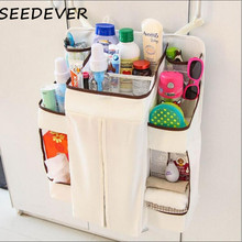 Buy Baby Bedding Set Cribs Hang Bags Storage Bag Organizer Hanging Baby Diaper Nappy Pockets Babies Receive nursing baby bag for $17.08 in AliExpress store