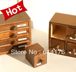 Free Shipping/Fashion wooden style drawer stamps /wooden stamp/wooden box/Decorative DIY funny work/Wholesale