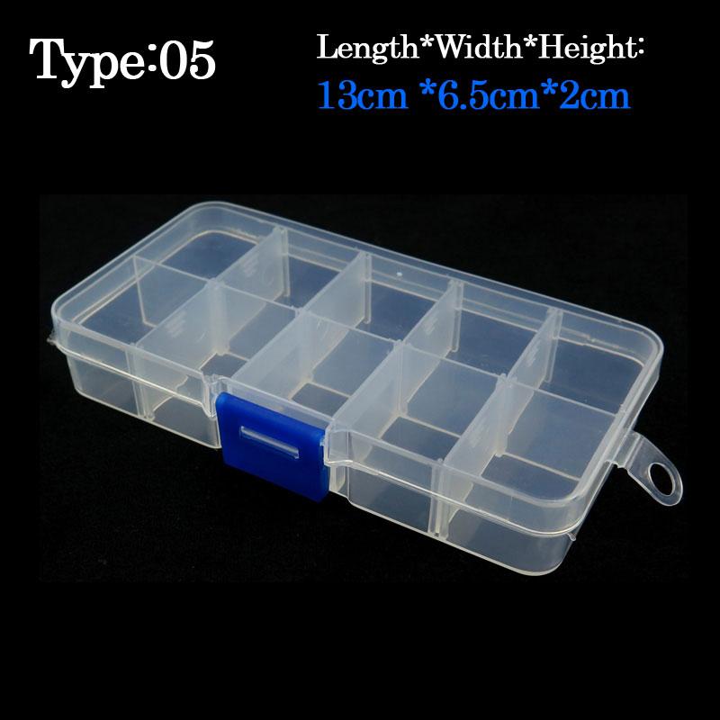 10pcs/lot 13cm*6.5cm*2cm fly Fishing Box, Fishing hook box Small plastic lure boxes Accessaries fishing tackle boxes(China (Mainland))