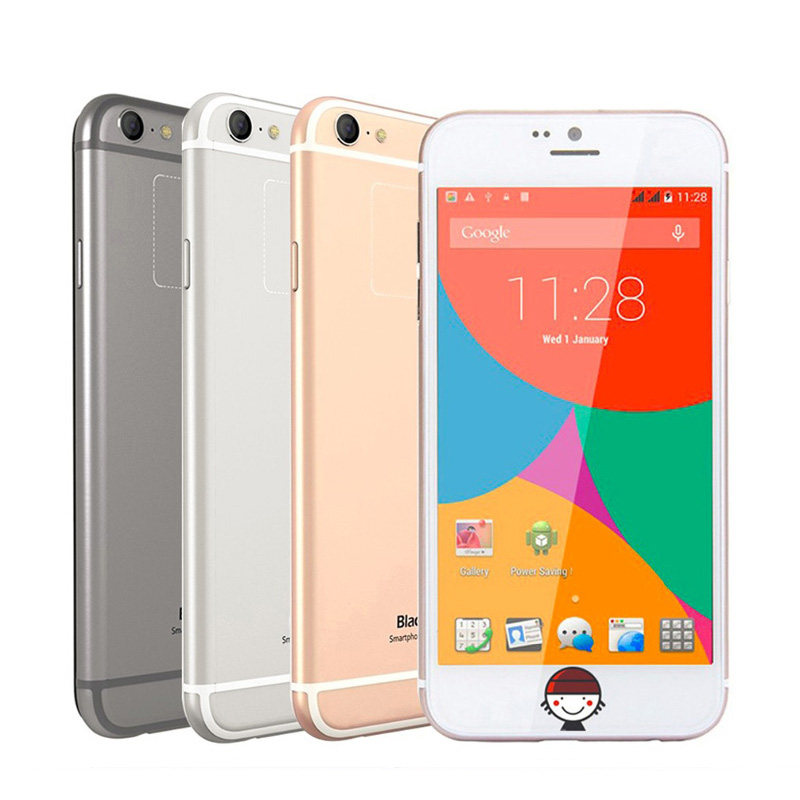Original Blackview A6 Ultra 4.7 inch HD Mobile Phone MTK6582 Quad Core 1.3GHz 1GB RAM 8GB ROM Back Touch 8MP WCDMA Android 4.4(China (Mainland))