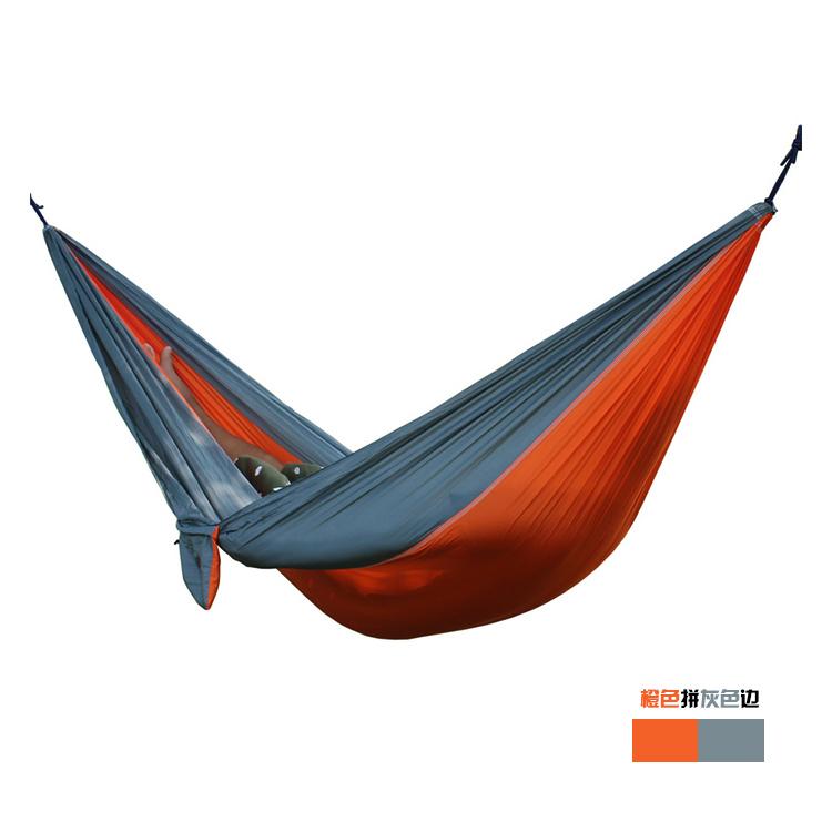 Outdoors Parachute camping Hammock tent Swing hamaca hamac kamp hangmat Travel survival Double multifunctional Orange hamak