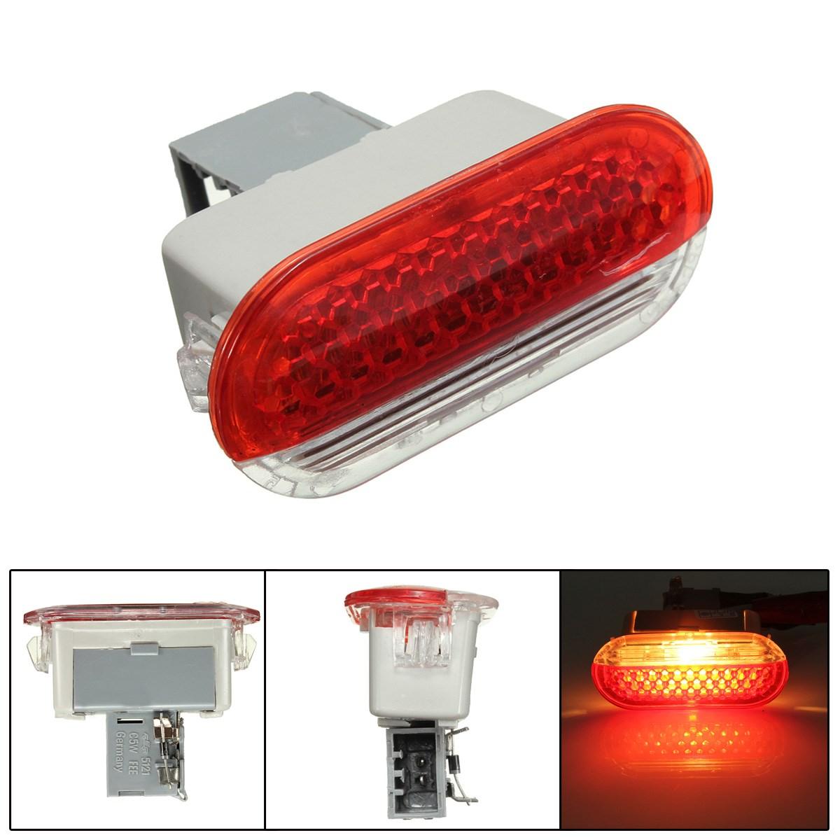 Interior Car/Bora Door Courtesy LED Door Warning Light Door Projector Lamp Red White For VW/Golf Mk4 Bora(China (Mainland))