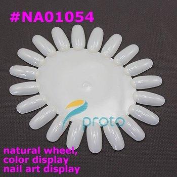 10pcs oval nail art display wheel Nail Polish Display Color  nail tools SKU:F0033XXX