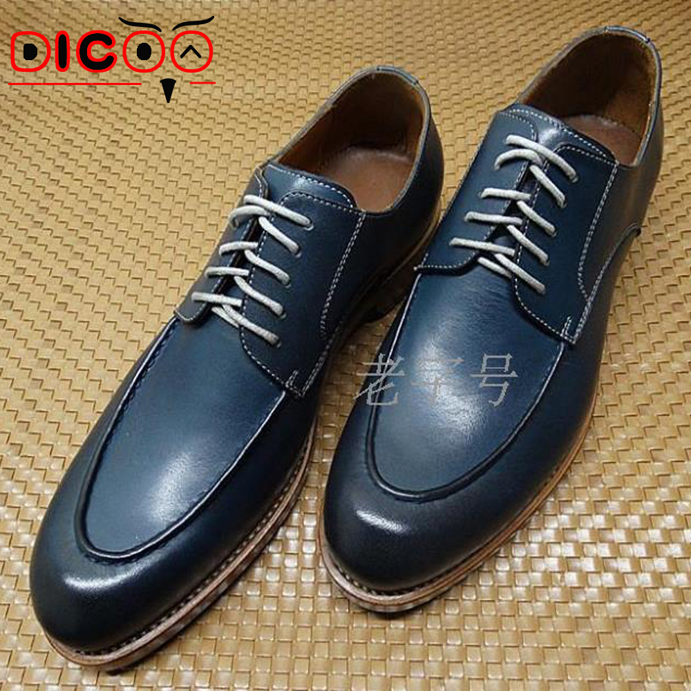 Navy Blue Dress Shoes For Men  Cocktail Dresses 2016