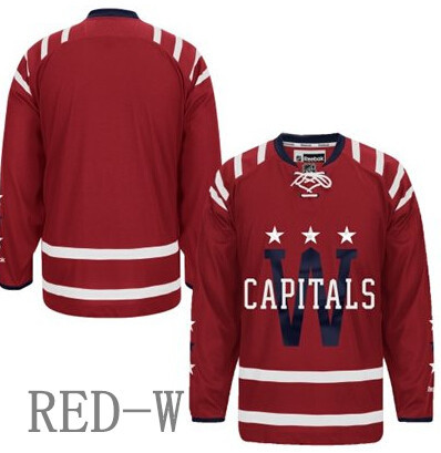 Top Quality Custom Washington Capitals Men & Youth Premier Real Style Full Embroidery Personalize Hockey Jersey(China (Mainland))