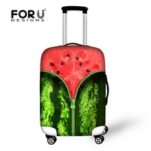 Fashion 3d fruit luggage cover waterproof luggage protective for cover travel case suitcase covers for 18 -30 inch maleta viaje(China (Mainland))