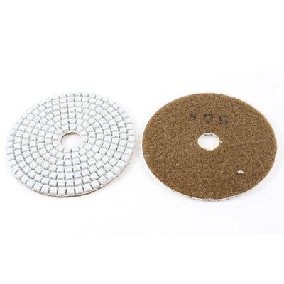 Brown Granite Marble Grinder Wet Dry 50 Grit Diamond Polishing Pad x 2<br><br>Aliexpress
