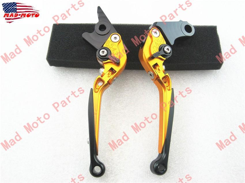 MAD MOTO  CNC  Clutch and  Brake Lever  CBR 250 R  2011-2013  2011  2012  2013 gold/black color<br><br>Aliexpress