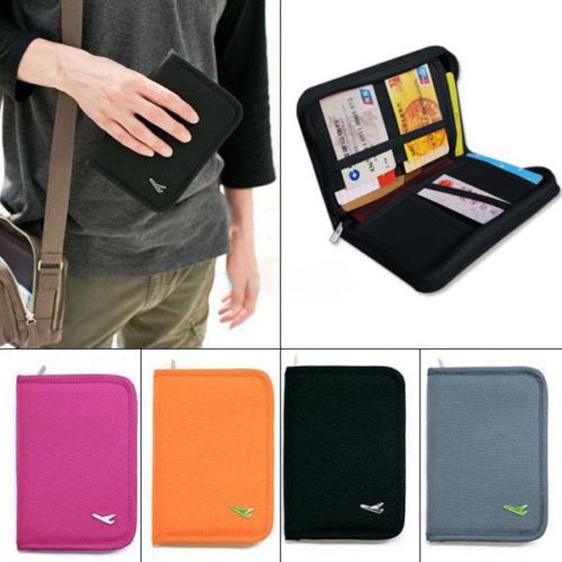 Гаджет  Credit ID Card Document Holder Travel Passport Case Bag Organizer Wallet Purse High Quality None Камера и Сумки