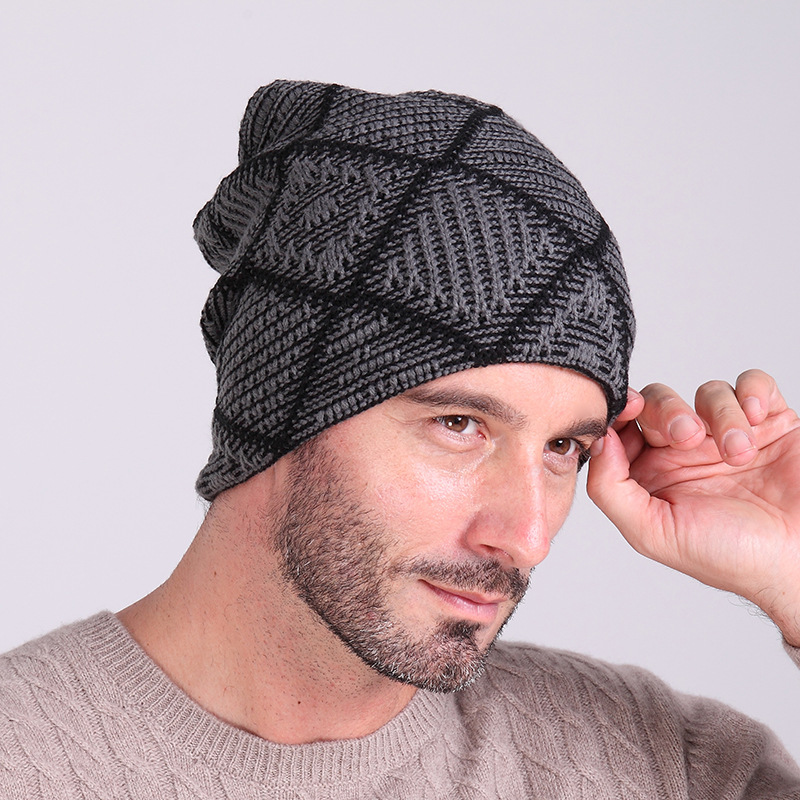 Hat male sports cap outdoor sking warm hats new design hat for men