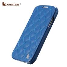 Buy Jisoncase Luxury Phone Case Samsung Galaxy S4 I9500 Genuine Leather Case Handmade Funda Book Style Flip Cover Samsung S4 for $11.69 in AliExpress store
