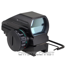 Tactical Reflex Red/Green Laser 4 Reticle Holographic Projected Dot Sight Scope Airgun Rifle point sight
