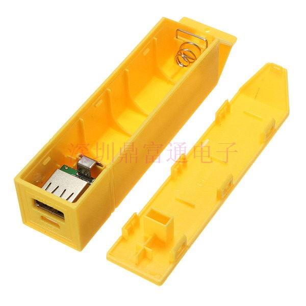 (no battery inside!!!) DIY Power Bank BOX 18650 Li-ion Battery Charger 3.7V lithium battery cell box for iphone 5 4s 6 7