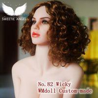 WMdoll 2016 НОВЫЙ ОРАЛЬНЫЙ секс куклы кукла № 82 кукла голова Бразилия секс девушки только голова игрушка секса Для Человека