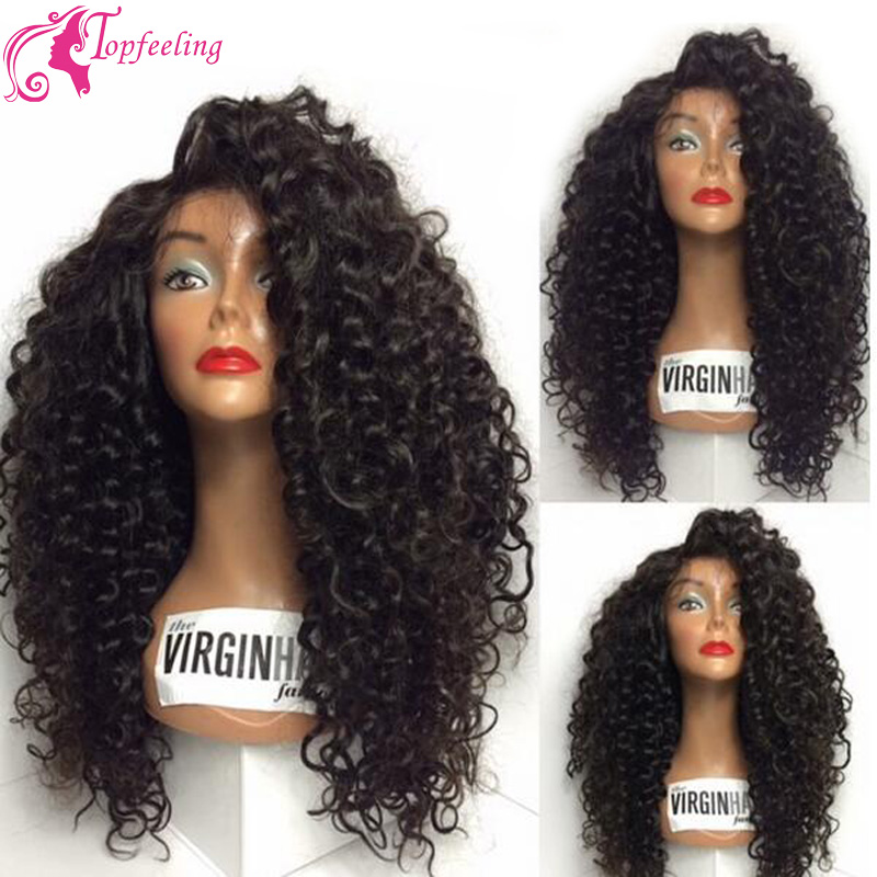 Ombre Curly Wig Virgin Brazilian Lace Front / Full Lace Human Hair Wigs Two tone 1b#T30# Ombre Blonde Curly Lace Wigs for Women