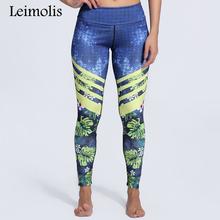 Buy Leimolis 3D print Jungle Spring Flower winter Harajuku adventure time workout push plus size fitness leggings women pants for $11.90 in AliExpress store