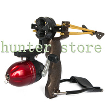 Archery Hunting Bow Fishing Slingshot Catapult with Bracket Arrow Rest Whisker Biscuit Functional Clamp Shooter(China (Mainland))