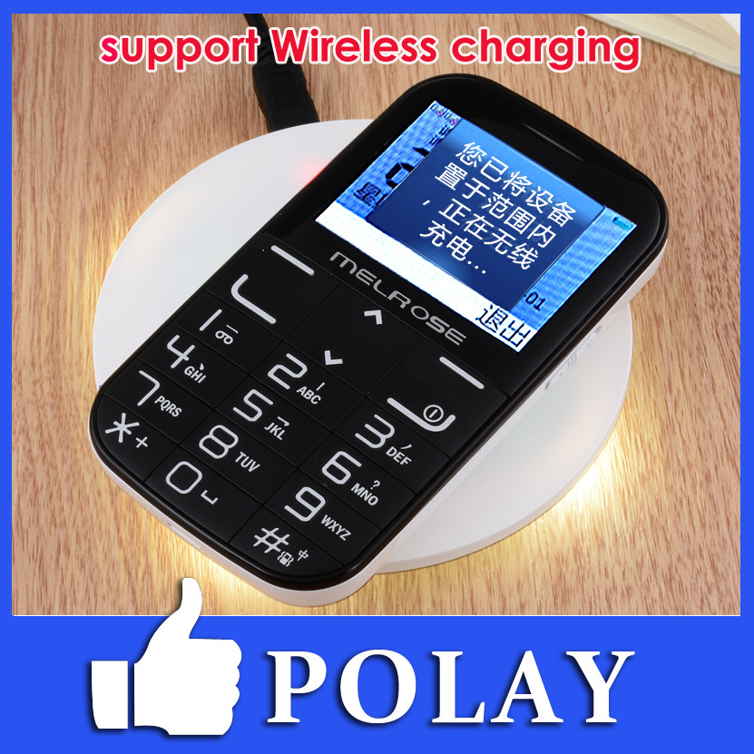 "New Melrose i310+ Wireless Charging 2.3"" Child Old Man Mini Mobile Cell Phone Big Button /Dual sim/camera/MP3/FM/Flashlight/SOS(China (Mainland))"
