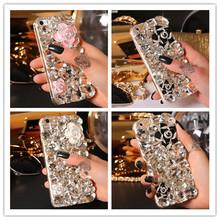 3D Luxury Bling Crystal Rhinestone Diamond Hard Back Case Cover For Iphone 5 5S SE 5C 6 6S 6 6s Plus XY3622 XY3623 XY3624 XY3625(China (Mainland))