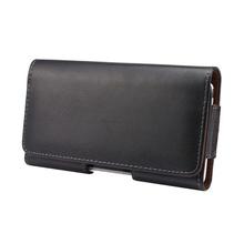 Универсальный натуральная кожа зажимы телефон сумка для iPhone 6 6 S плюс 5 5S старинные чехол для Samsung Galaxy S6 S5 S4