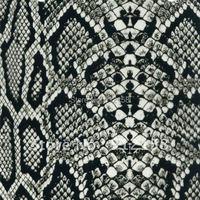 Hydrographic Animal Pattern films water transfer printing film Black snake skin pattern GW2630 width:90CM