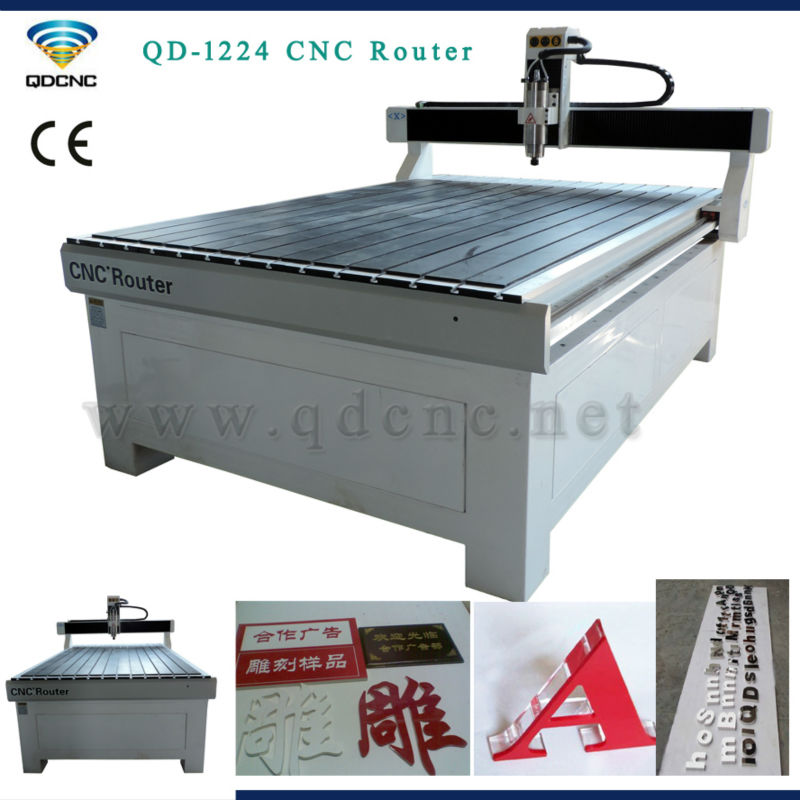 CNC router 1224 with dust collector/advertising cnc router of high precision(China (Mainland))