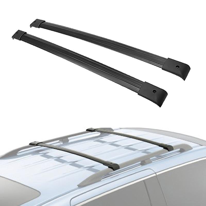 A Pair Black Aluminum Car 150LBS Roof Rack Cross Bars Top Luggage Cargo Water-proof Anti-corrosion For Honda Odyssey 2005-2010(China (Mainland))