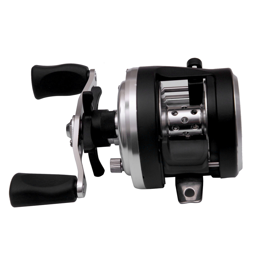 DA200 7+1 Ball Bearings 4.7:1 Right/Left Hand Fishing Reel Stainless Steel Spool Bait Casting Reel Dual Control System(China (Mainland))