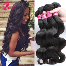 Grade 7A Peruvian Virgin Hair Body Wave  Queen Hair Products Peruvian Body Wave Human Hair 4 Bundles Deals Grace Hair Company