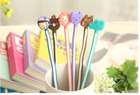 HelloGeeks Smart Winder Cartoon Animal Bear Long Cable Organizer Headphone Wire Holder Girl Like Best Promotion Gift 10pcs QQ23