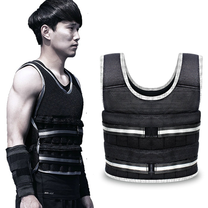Thin weight vest Player daily exercise clothes steel plate freeweight jacket Sport waistcoat(China (Mainland))