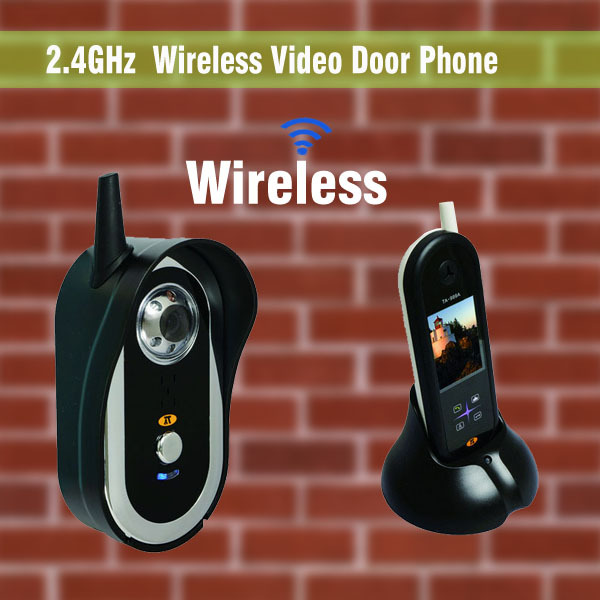 Wireless Video Intercom System Video Intercom Video Door Bell Wireless Doorbell With Camera Video Door Phone 1 V 1<br><br>Aliexpress