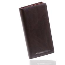 New Multi-card Slot Men Wallets Luxury Genuine Leather Men Clutch Wallets Multifunction Male Coin Purse Money Bags Card Holder