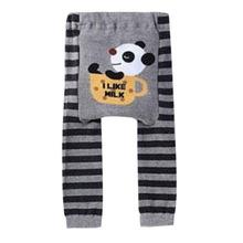 Cute Baby Kids Boy Girl Toddler PP Pants Legging Animal Pattern Trousers S M L 0-1Y Free Shipping ZC2