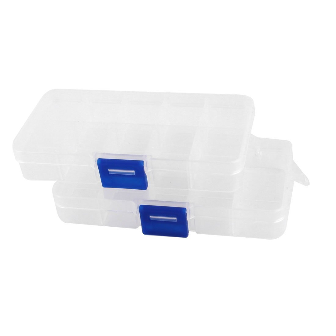 DHDL-2pcs Plastic 10 Compartments Electronic Components Storage Box Case(China (Mainland))